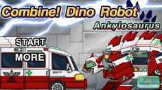 Robot-Dinosaur - Police_Dinosaur-First Aid for Children