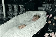 Image result for Princess Diana in Coffin Open