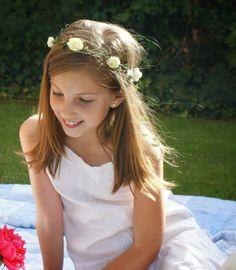 Coronas de flores para niñas y mamás www.bbthecountrybaby.com
