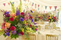 Bright Marquee design, Birtsmorton Court Ltd - Inspiration Gallery Wedding Venue Image
