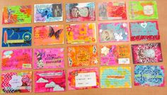 Rachel's Affirmation Postcards (at Ravenous Rae)