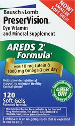 PreserVision Eye Vitamin and Mineral Supplement AREDS 2 Formula, 120-Count $22.99