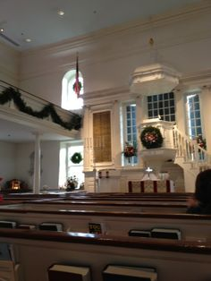 "Christ Church.  Historic church--another one of ""George Washington was here"" places. Very pretty inside; colonial."