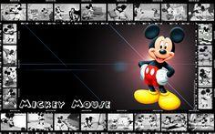 mickey mouse frame cartoon wallpaper