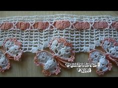 Crochet Necklace, Crochet Patterns, Cross Stitch, Butterfly, Youtube, Farmhouse Rugs, Crochet Edging Patterns, Crochet Hearts, Crochet Hood