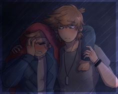 Believe it or not, no ship is intended in this picture. Tom got pissed drunk and Tord found him on the streets. This is just something small I made that has multiple mistakes but still- .. ... Thou...