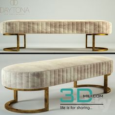 models: Other soft seating - Bubble Bench Furniture, Luxury Furniture, Modern Furniture, Furniture Design, Interior Design Living Room, Living Room Decor, Bedroom Decor, Soft Seating, 3d Models