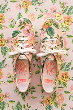 Rifle Paper Co. and Keds Have Teamed Up to Create an Adorable Line of Sneakers