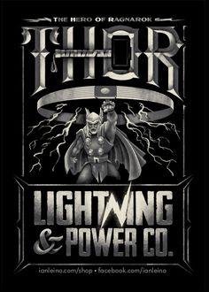 """Thor Power Co."" by Ian Leino"
