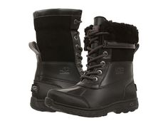 Ugg Kids: Butte II Little Kid/Big Kid (Black) These are awesome