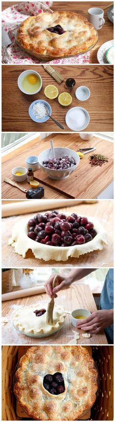 Dessert recipe: Double crusted cherry pie