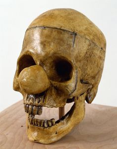 rare find...clown skull...hehe