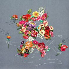 Embroidered Landscapes and Plants by Ana Teresa Barboza | Colossal | Bloglovin'
