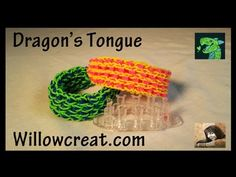Dragons Tongue Bracelet on the Monster Tail Loom