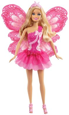 Barbie Beautiful Fairy Barbie Doll (Modern Doll, WAY different from other Barbies on board