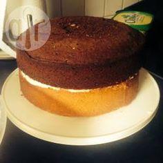 Classic plain sponge cake @ allrecipes.co.uk