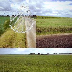 Du plat, du plat, du vent, du vert, du blé. La Beauce. #Mérelle N°5 #Performance #Compostelle #concha #camino #compostela