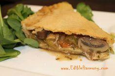 Paleo Chicken Pot Pie  #EdibleHarmony
