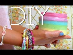 SkinME - Make Body Butter |Rainbow DIY