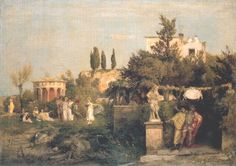 Tavern in ancient Rome II, 1867