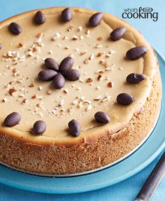 Double-Coffee Cheesecake #recipe