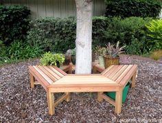 22 Creative and Inspiring Tree Seats Around Trees