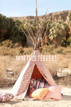 teepee giveaway / designlovefest    barrett is a santa monica, CA based designer of high-end residential projects (comme ca in weho and hotel oceana in santa monica.)