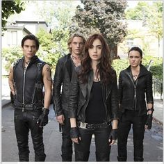 Shadowhunters;  looking better in black than the widows of our enemies since 1234
