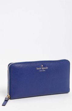 kate spade new york 'mikas pond - lacey' zip around wallet available at #Nordstrom