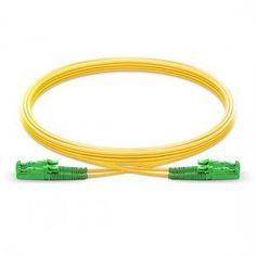 Duplex Cable Allen Tel GBST2-D1-15 Fiber Optic Cable Assembly Patch Cord ST To ST 15-Meter Length Yellow Jacket Allen-Tel Singlemode Fiber