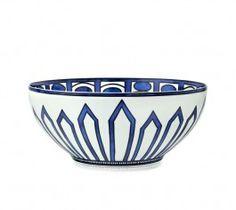 Bleus d'Ailleurs Salad Serving Bowl, 101 oz. No dimensions given. $503.00 at atkinsonsofvancouver.com, 9/25/15