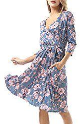 Cheap Spring and Summer Dress, floral dress
