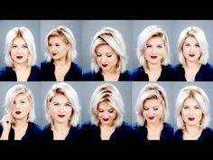 HOW TO: 10 different ways to part your hair Tutorial Simple Updo Tutorial, Easy Updo, Hair And Beauty, Parting Hair, Long Hairstyles, Hairstyles Videos, Middle Part Hairstyles, Trending Hairstyles, Layered Hair