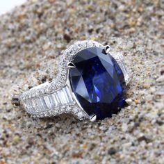 sneak peak!  Sparkling 8 ct Ceylon Sapphire from Sri Lanka.