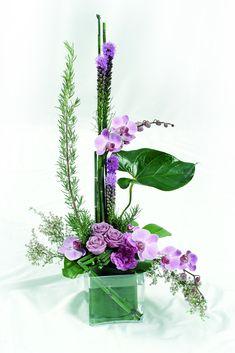 Modern Floral Arrangements - Unique Modern Floral Arrangements, Modern Yellow Arrangements Remember Those Black Vases I Showed