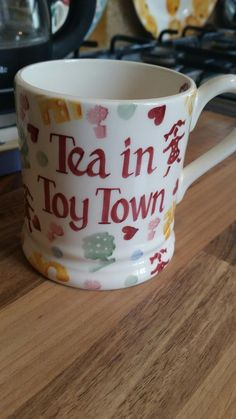Personalised Toy Town 0.5 Pint Mug 2016 (Discontinued 26th August 2016)