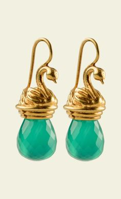 King Louie - Earrings Swan