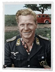 Hans-Ekkehard Bob flew approximately 700 combat missions and claimed 60 victories. He recorded 37 victories over the Eastern front. Bob next became a member of JV 44 the Me 262 equipped unit led by the now former General der Jagdflieger, Adolf Galland (104 victories, RK-Br). At the capitulation on 8 May 1945, Bob was in Koppl, a small village near Salzburg. From there he walked 1,700km in 6 weeks to Celle.