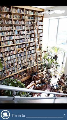 a place for books...a home for books