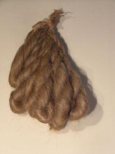 Early 19th C Bundle of Flax Stricks