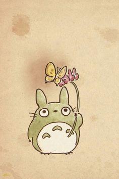 【人気267位】【ジブリのスマホ壁紙】となりのトトロ