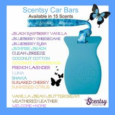 One of our newest items! I absolutely love these! Get yours here www.milissa.scentsy.us