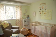 Toby's Green and Orange Sunny Nursery
