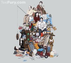 """""""Seinfeldology"""" by K_Essenpreis is available.  Get yours here: http://www.teefury.com/seinfeldology/?utm_source=pinterest&utm_medium=referral&utm_content=seinfeldology&utm_campaign=90scollection"""