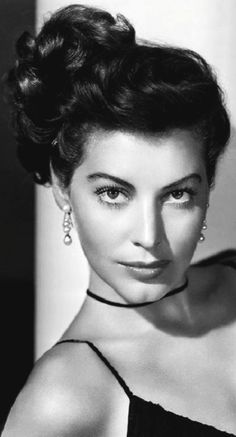 Ava Gardner - just so beautiful.