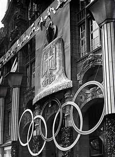 - 1936 Kaufhaus Tietz am Alexanderplatz German Empire Free State Prussia – Brandenburg Provinz – Berlin:… Berlin Alexanderplatz, Berlin Olympics, Empire, Free State, Prussia, Summer Olympics, Berlin Germany, Zeppelin, Olympic Games