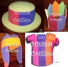 Resultado de imagen para sombreros para fiestas de 15