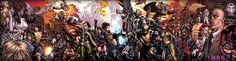 Marvel Comics Superheroes and Villains