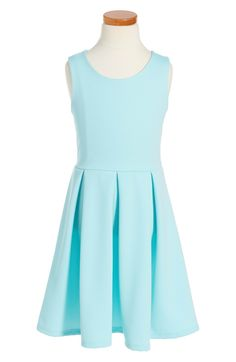 SOPRANO Stripe Skater Dress Arctic Blue easter dresses for tween girls 2017 style Cool Girl Outfits, Big Girl Clothes, Stylish Tops, Trendy Tops, Easter Dresses For Tweens, School Dance Dresses, School Dances, Cute Dresses, Girls Dresses
