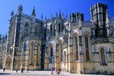 Monasterio de Santa Maria da Vitória de Batalha, Portugal.